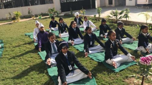 Fit India Movement-(Yoga Activity)