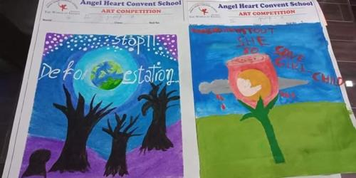 An Inter School Art Competition -2019 (Under HUB of Learning)